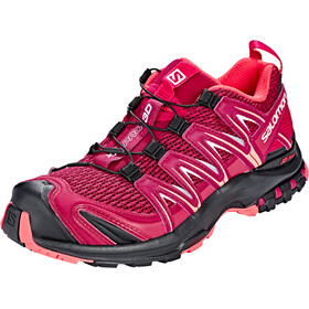 Salomon XA Pro 3D Schuhe Damen beet red/cerise./black
